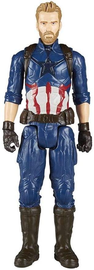 Boneco Capitão América - Marvel Titan Hero Series