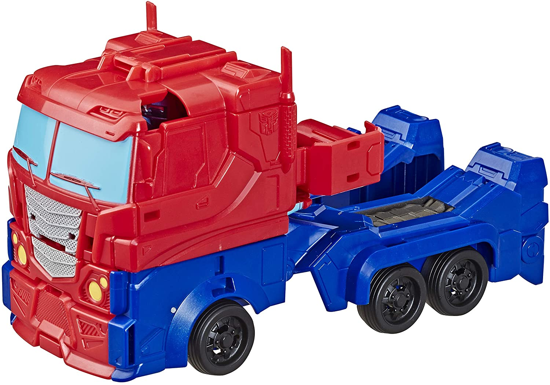 Boneco Transformers Titan Changer Optimus - Hasbro