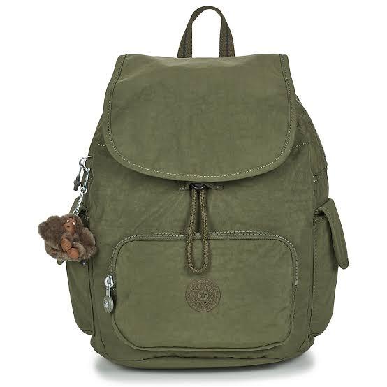Mochila City Pack S Jaded Green - Kipling