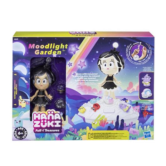 Conjunto Hanazuki Moodlight Garden - Hasbro