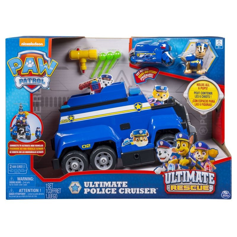 Conjunto Patrulha Canina Ultimate Police Cruiser - Sunny