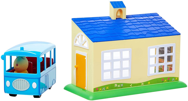 Escolinha e Ônibus Escolar Peppa Pig