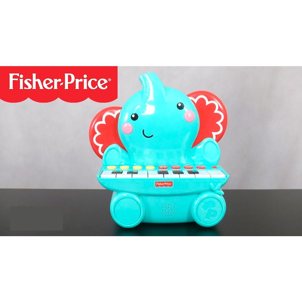 Teclado Elefante Com 25 Teclas - Fisher-Price