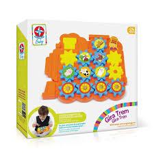 Brinquedo de Atividades Gira Trem - Estrela