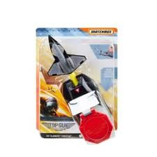 Matchbox Top Gun Avião Com Lançador de Jatos - Mattel