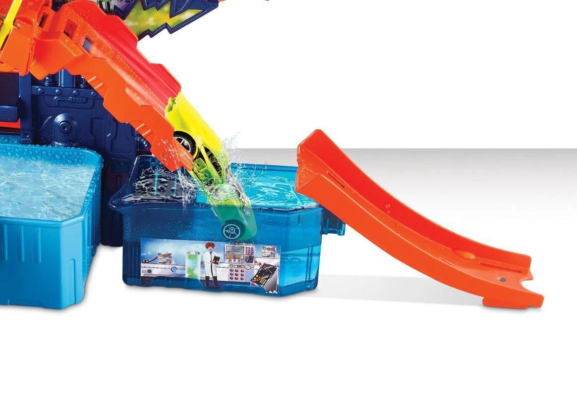 Pista Hot Wheels Color Change com Estação Científica - Mattel