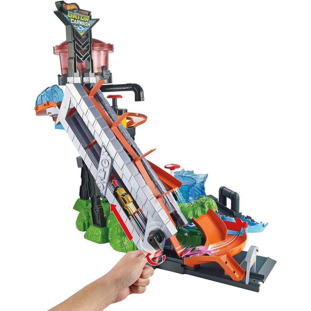 Hot Wheels Lava Rápido Ataque Jacaré - Mattel