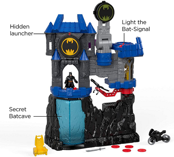 Imaginext Wayne Batcaverna - Mattel