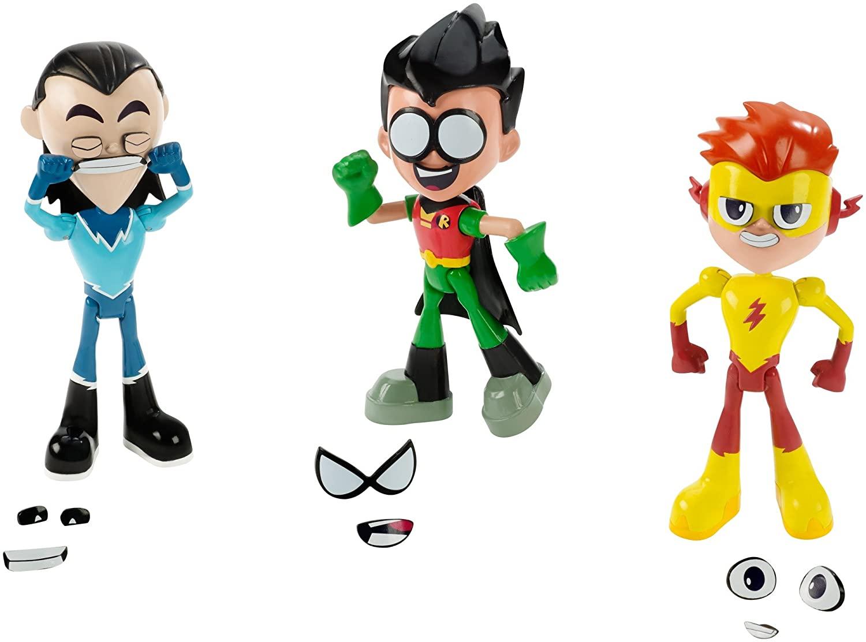 Jovens Titans Go Conjunto 3 Bonecos - Mattel