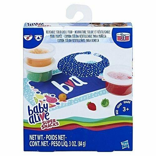 Kit Comida Baby Alive Super Snacks - Hasbro