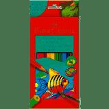 Lápis de Cor Aquarelável 12 Cores - Faber-Castell