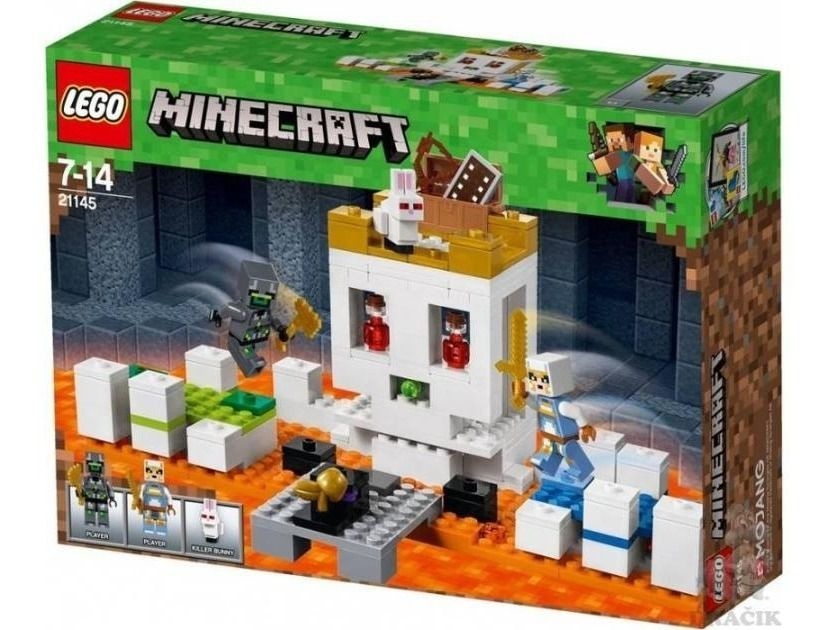 Lego A Arena da Caveira