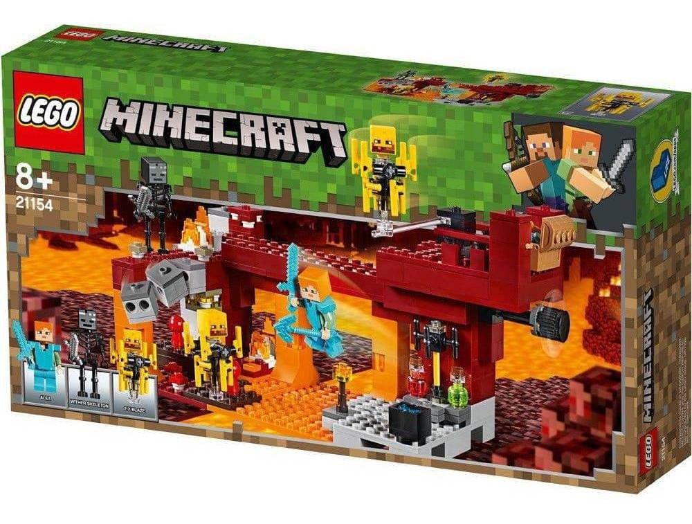 Lego A Ponte Flamejante