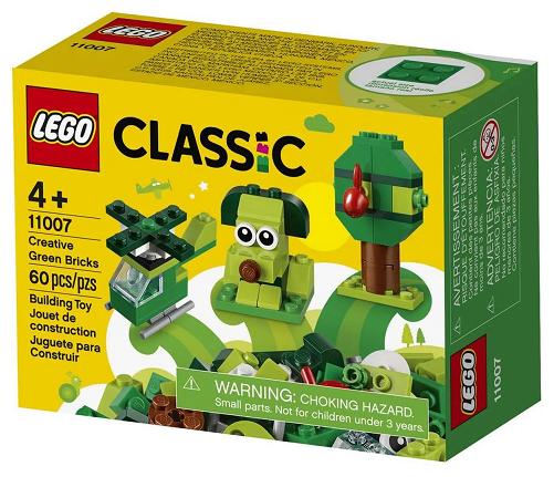 Lego Classic - Peças Verdes Criativas