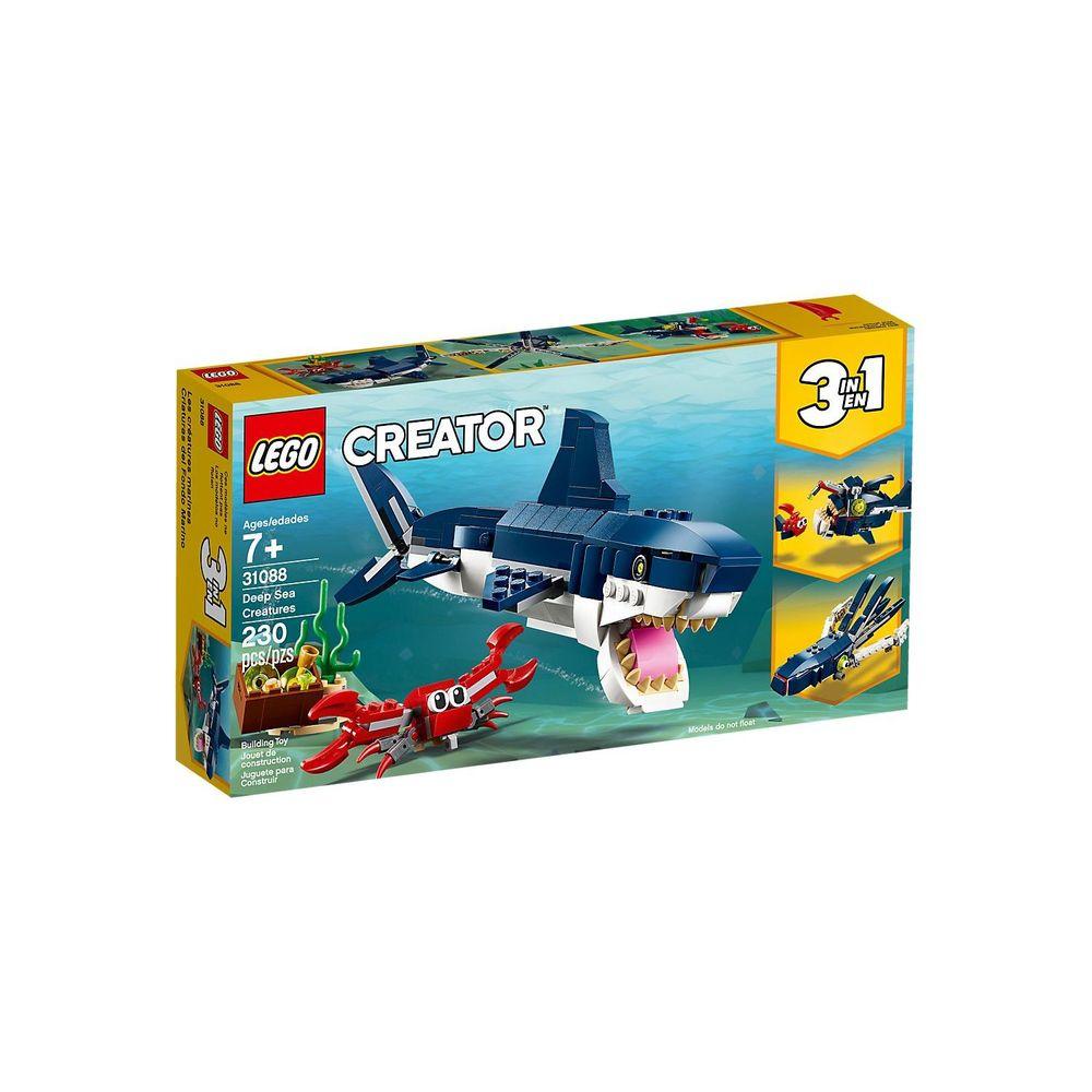 Lego Criaturas do Fundo do Mar