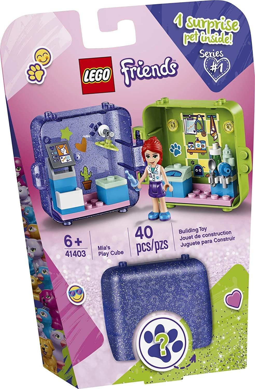 Lego Cubo de Brincar da Mia