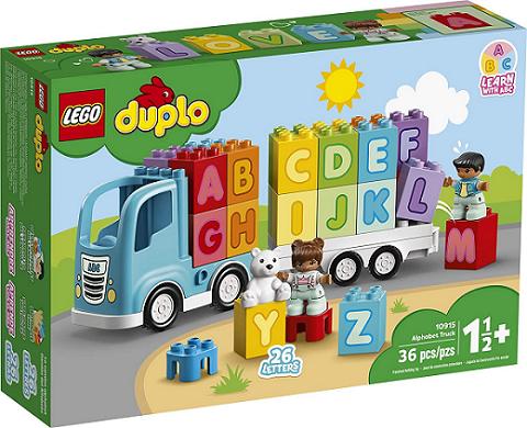 Lego Duplo - Caminhão do Alfabeto