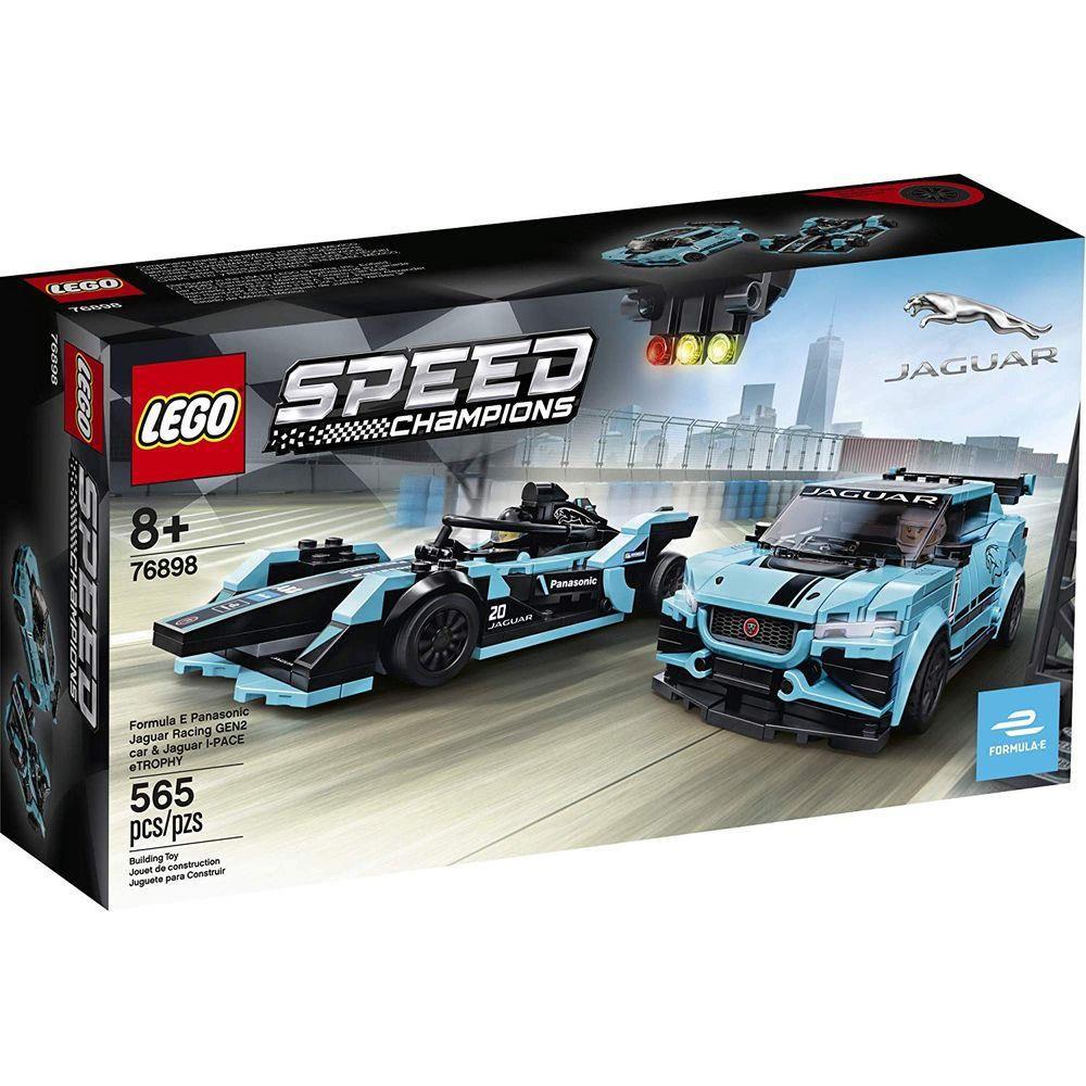 Lego Fórmula e Panasonic Jaguar Racing