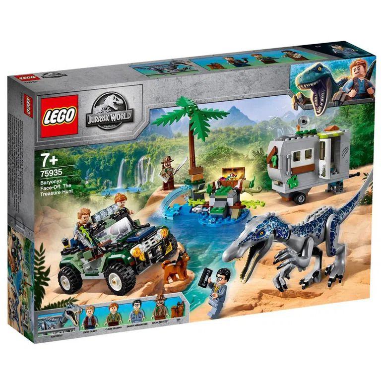 Lego Confronto de Baryonyx A Caça Ao Tesouro