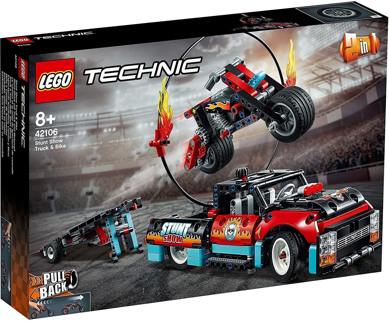 Lego Motocicleta e Caminhão de Acrobacias