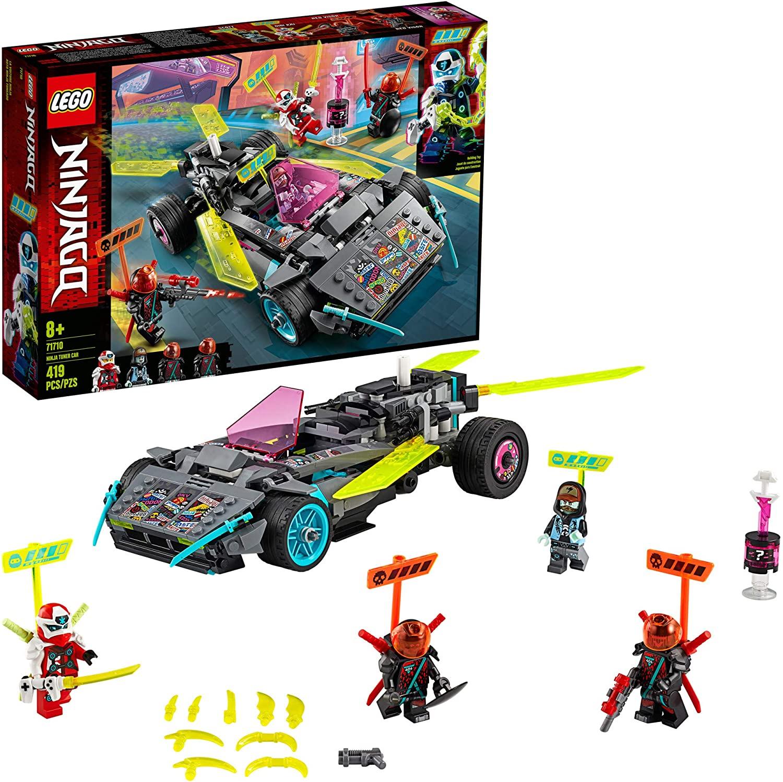 Lego Ninjago - Carro Tunado Ninja
