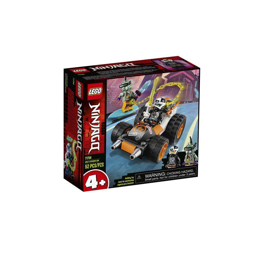 Lego Ninjago - O Carro de Corrida do Cole