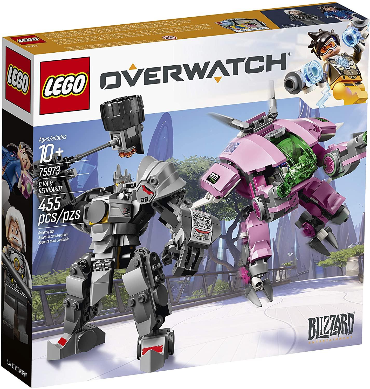 Lego Overwatch - D.VA & Reinhardt
