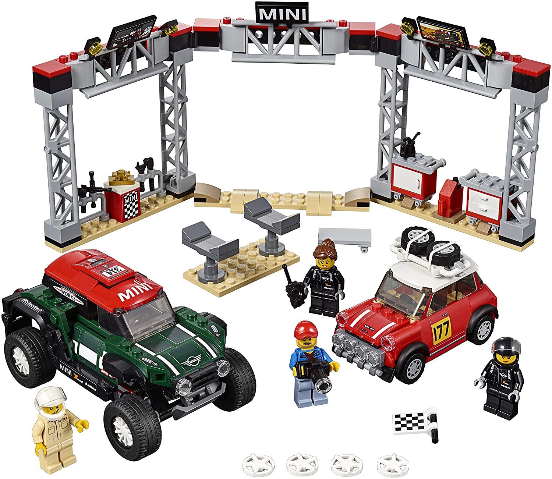Lego Speed Champions 1967 - Mini Cooper S Rally e 2019 Mini Buggy