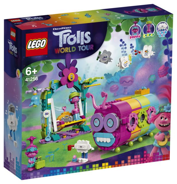 Lego Trolls - Ônibus-Lagarta Arco-Íris