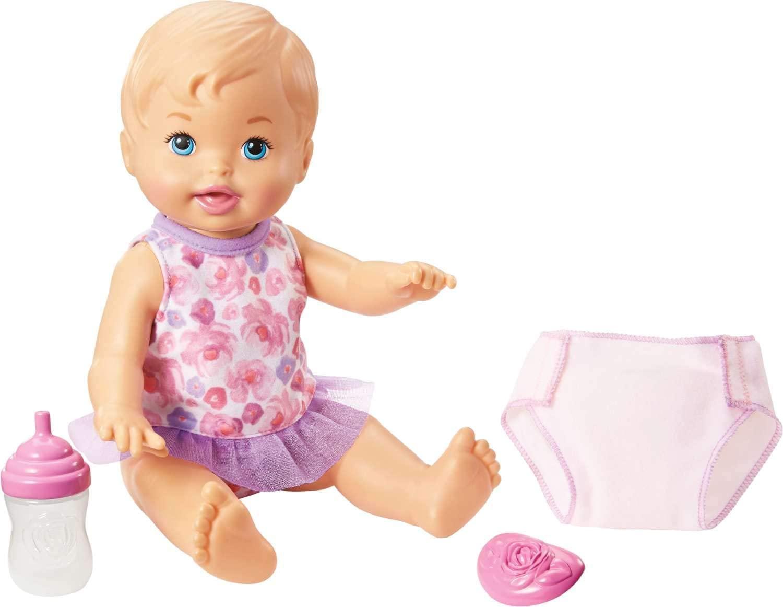 Boneca Little Mommy Hora de Fazer Xixi Loira - Mattel