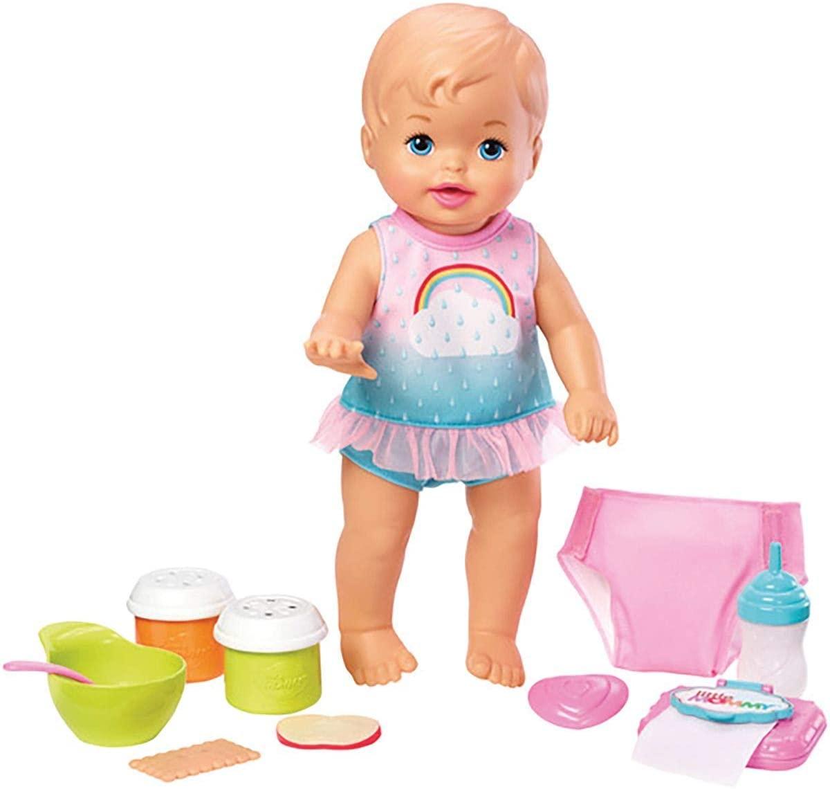 Boneca Little Mommy Bebê Faz Xixi Deluxe - Mattel