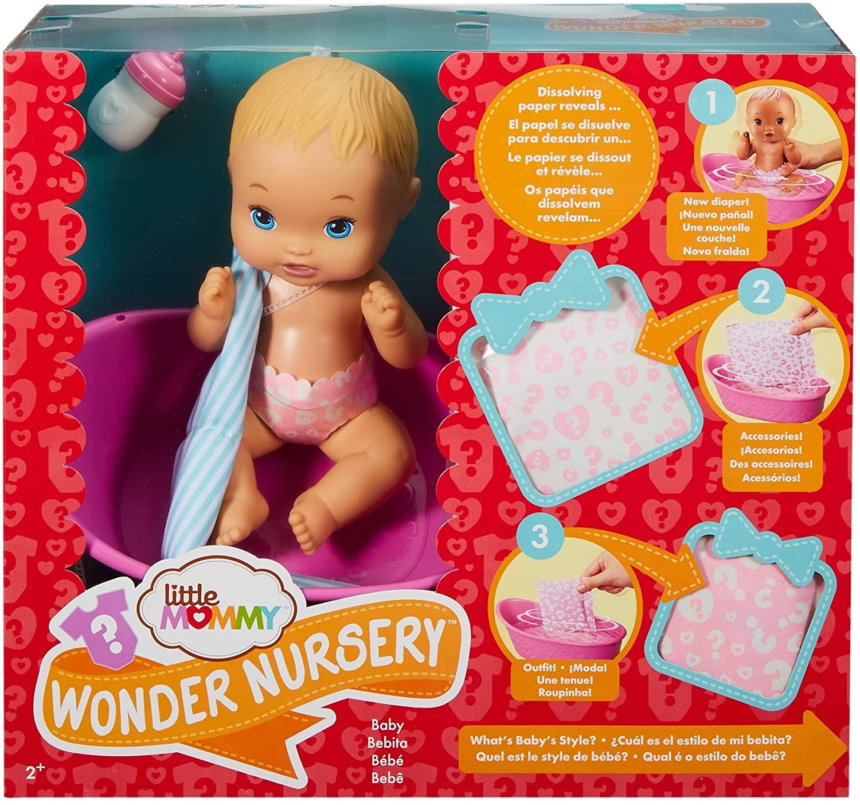 Boneca Little Mommy Bebê Surpresas Mágicas - Mattel