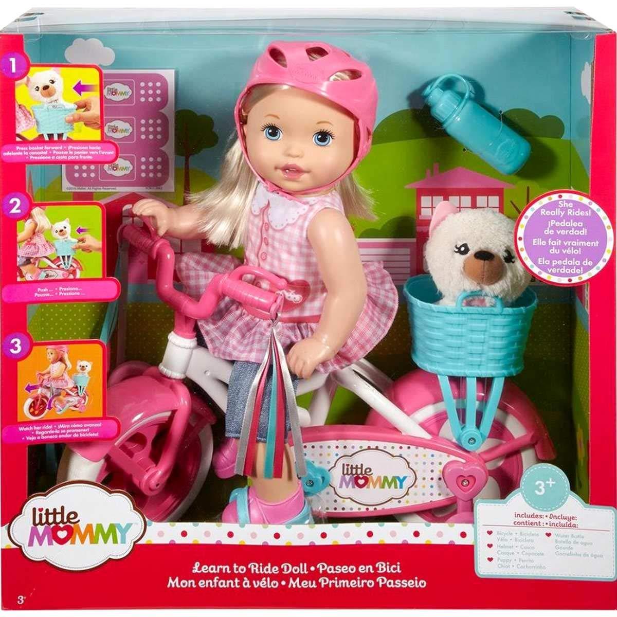 Boneca Little Mommy Meu Primeiro Passeio - Mattel