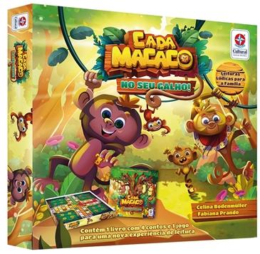 Livro Jogo Cada Macaco No Seu Galho - Estrela