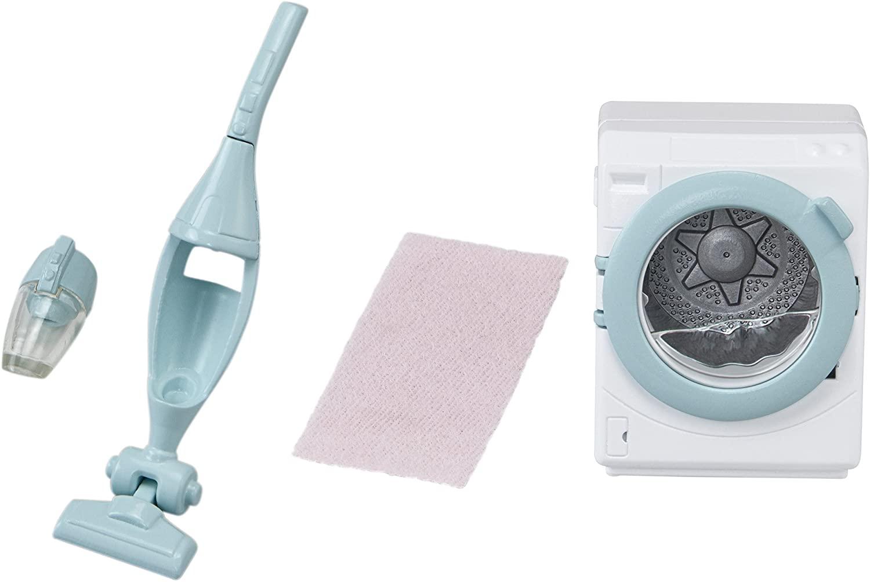 Máquina de Lavar Roupa e Aspirador de Pó - Sylvanian Families