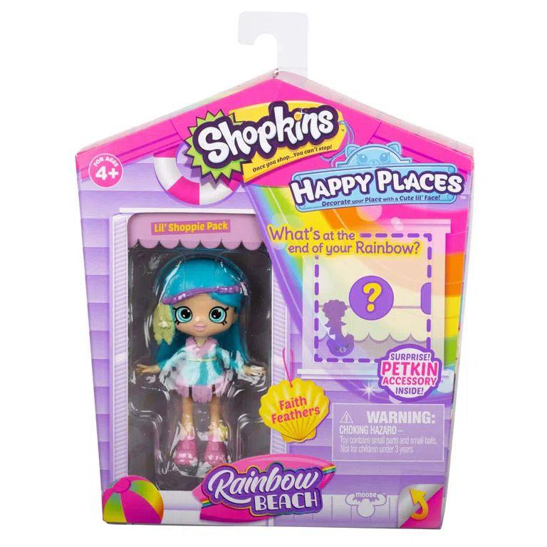 Mini Bonecas Surpresa com Acessórios Shopkins