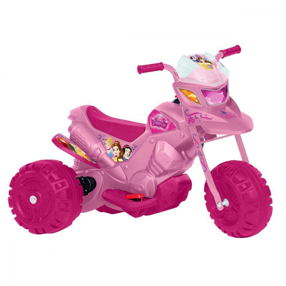 Moto Princesas Disney 6V - Bandeirante