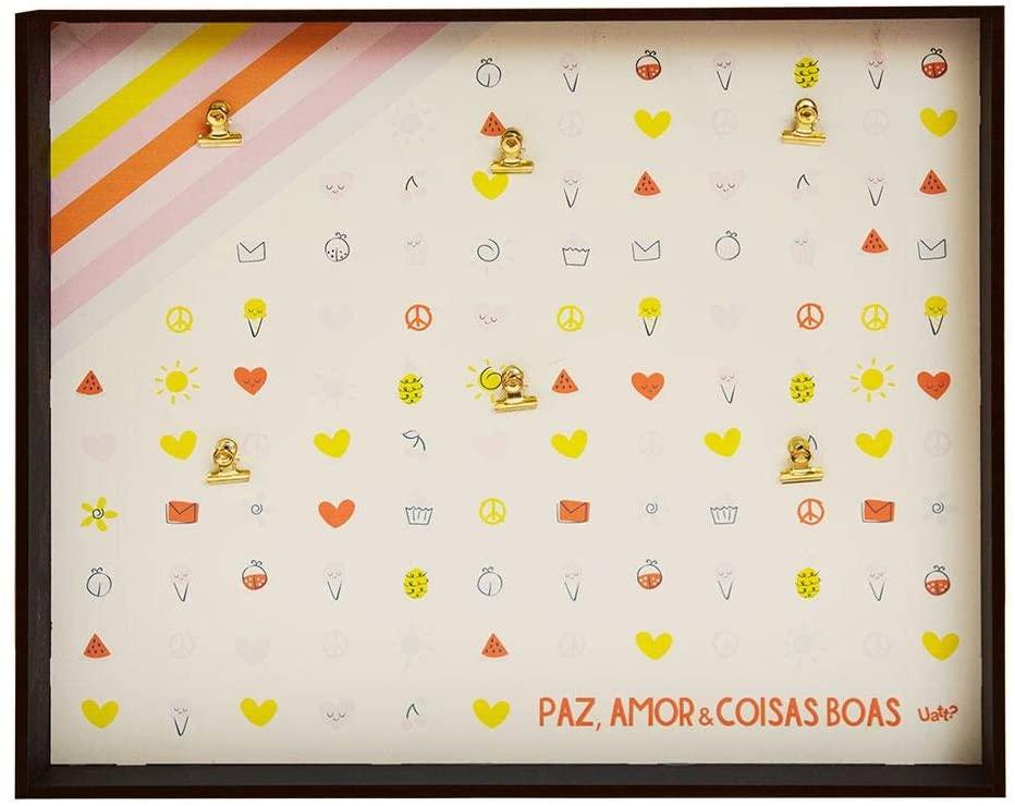 Mural de Fotos Clips Paz, Amor e Coisas Boas - Uatt