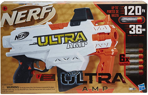 Nerf Automático Ultra AMP - Hasbro