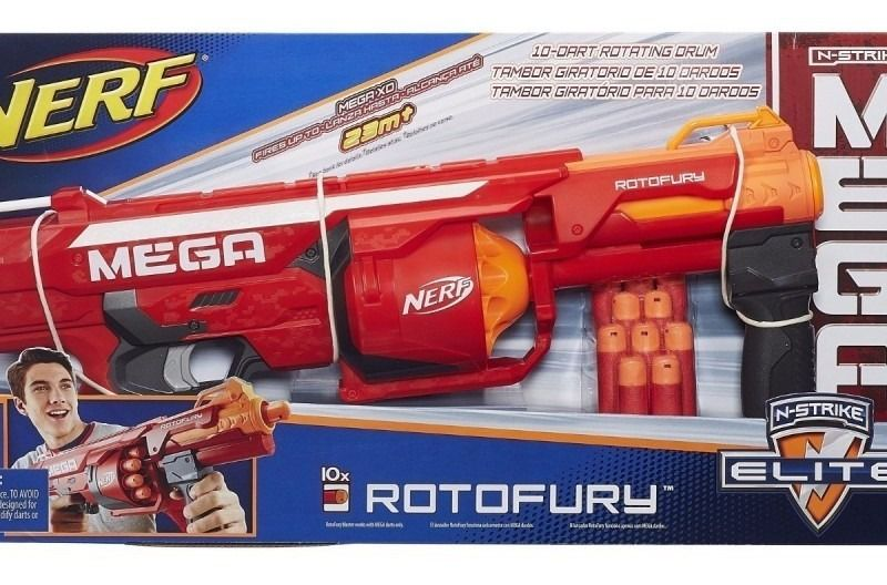 Nerf N-Strike Mega Rotofury - Hasbro