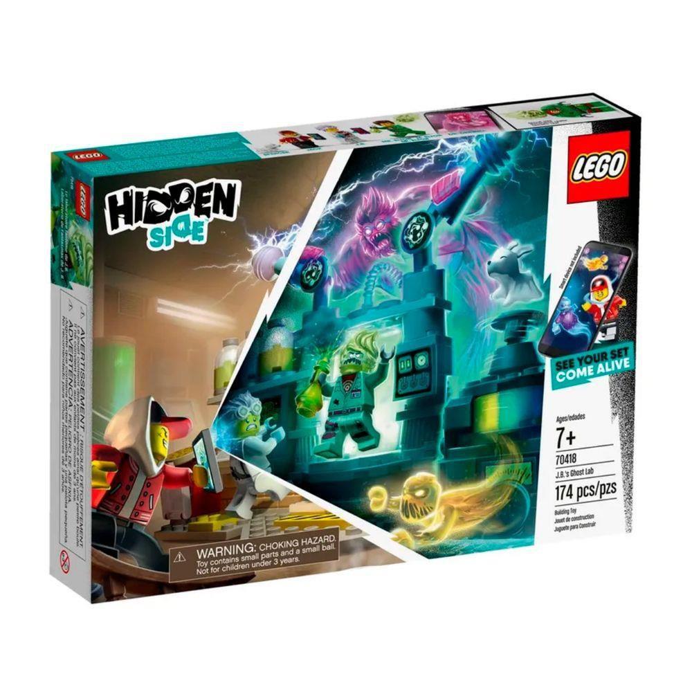 LEGO O Laboratorio de Fantasmas de J.B.