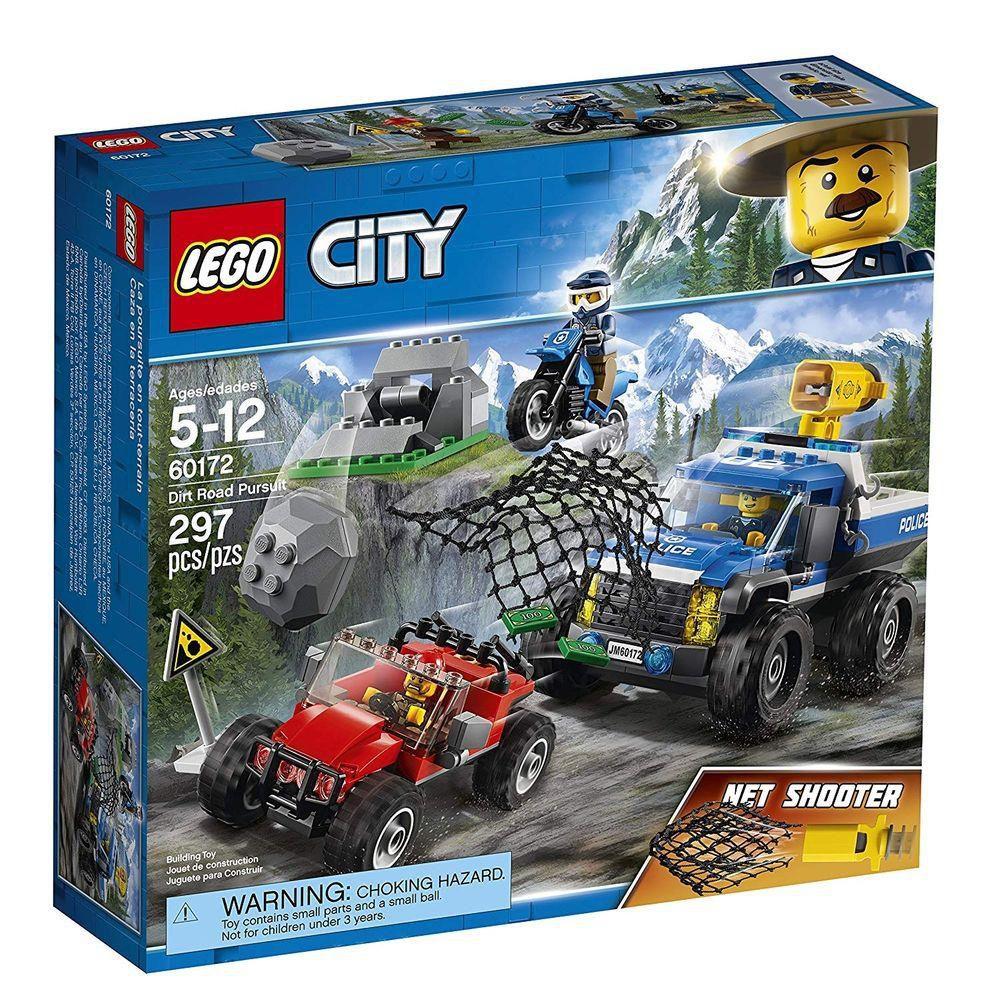 Lego City - Perseguição em Terreno Acidentado