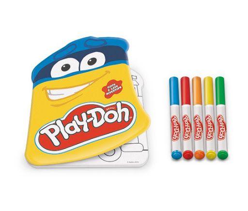 Livro Pinte e Lave Divertido Play-Doh