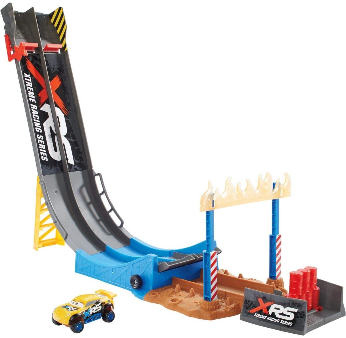 Pista Acrobacias Xtremas Salto no Ar Carros 3 - Mattel
