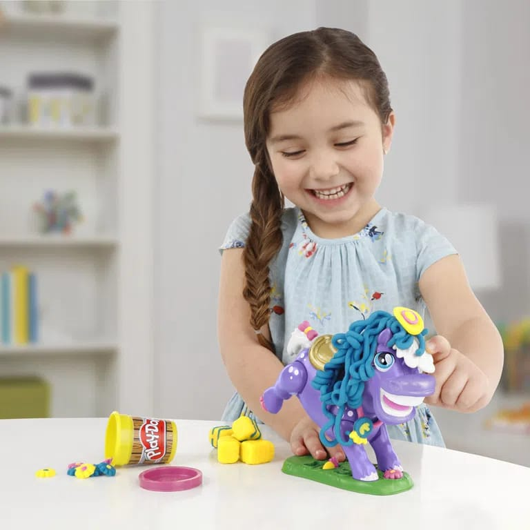 Massinha Play-Doh Fazenda Poney - Hasbro