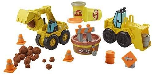 Massinha Play-Doh Wheels Escavadeira - Hasbro