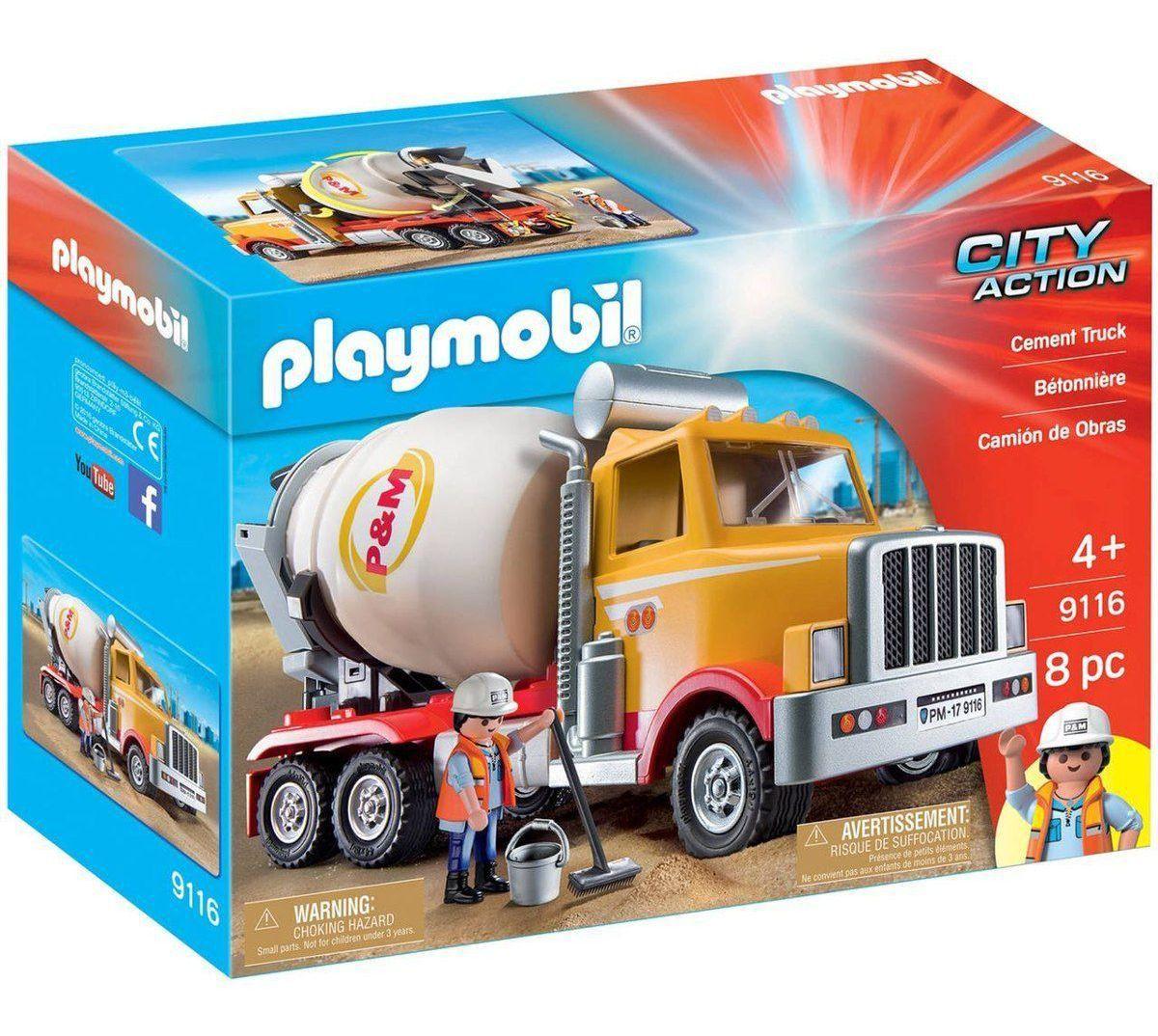 Playmobil Caminhão de Obras - Sunny