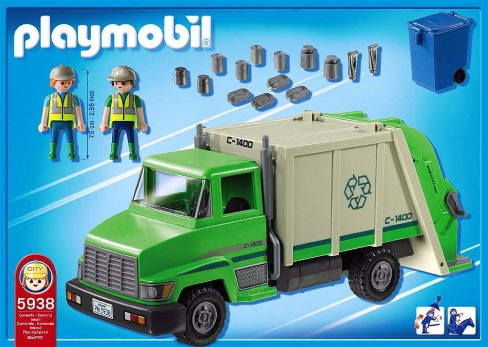 Playmobil Caminhão de Reciclagem - Sunny
