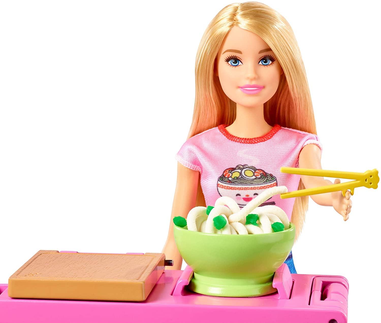 Boneca Barbie I Can Be Playset Máquina de Macarrão - Mattel