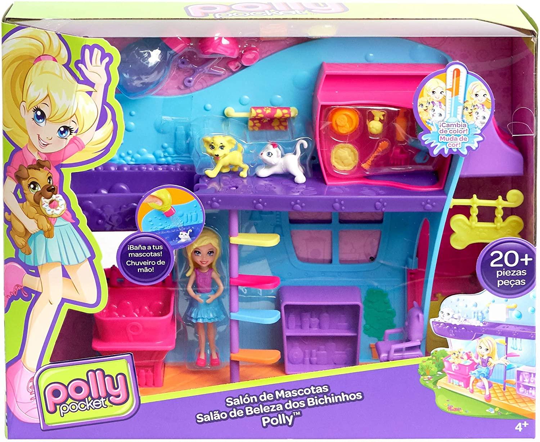 Polly Pocket Spa dos Bichinhos - Mattel